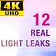Light Leaks 4K Pack