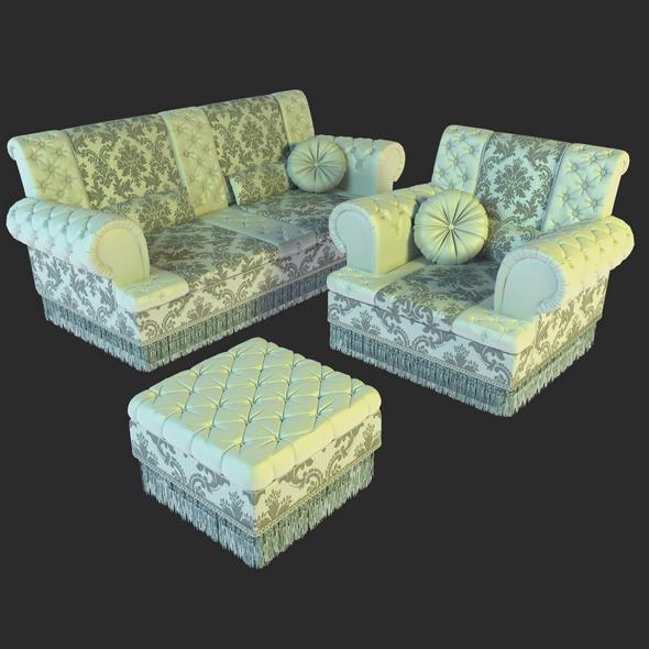Asnaghi Elisir set - 3DOcean Item for Sale
