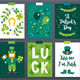 12 Patrick Cards + 3 Seamless Patterns