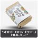 Soap Bar Paper Sleeve Mock-Up