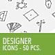 50 Designer Business Icons