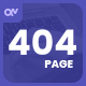 Sosada - creative animated 404 page