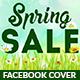 Spring Sale Facebook Cover