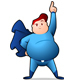 Chubby Superhero
