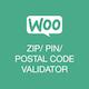 WC Zip/Pin/Postal Code Validator