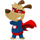 Cartoon Super Puppy