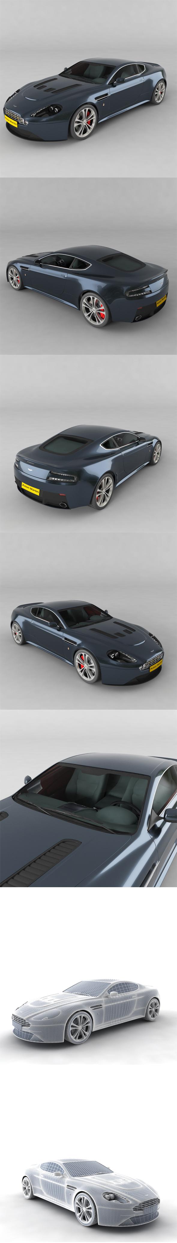 Aston Martin v12 - 3DOcean Item for Sale