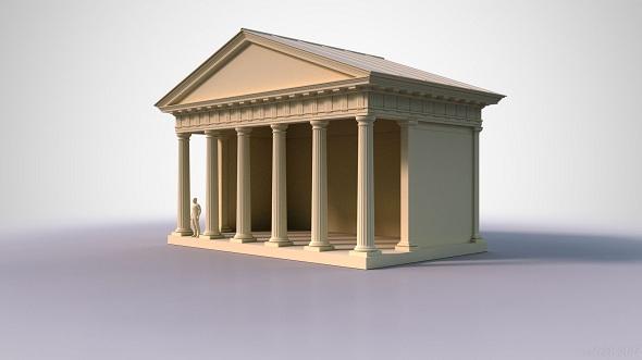 3DOcean Doric Temple 1 19532029