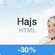 Hajs - Modern Multi-Purpose Landing Page Template