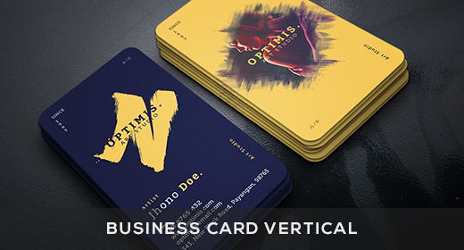 Business Card Vertical