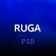 Ruga Creative Agency PSD Template