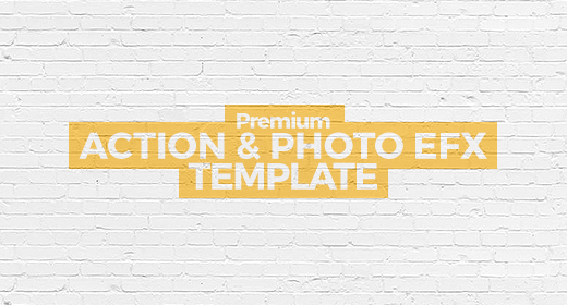 Action Effects & Photo-Templates