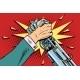 Man Vs Robot Arm Wrestling Fight Confrontation