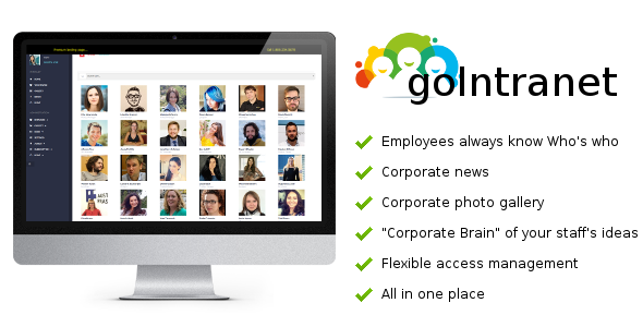goIntranet - Organize your Employees