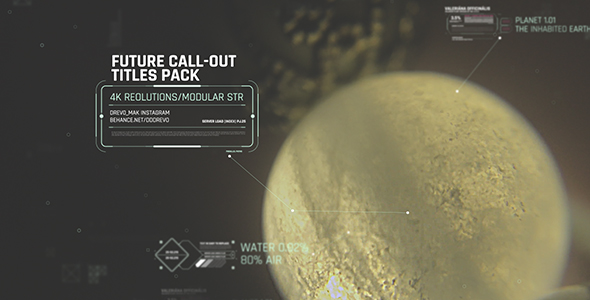 VideoHive Future Call-outs Titles Pack 19535133