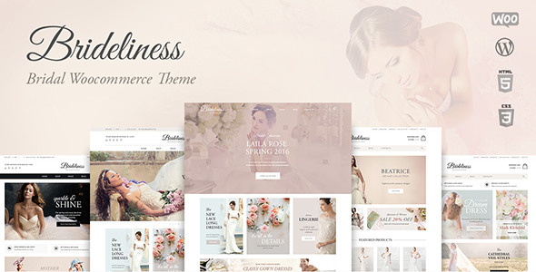 Brideliness – Wedding Shop WooCommerce Theme (WooCommerce) images