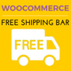 WooCommerce Free Shipping Bar