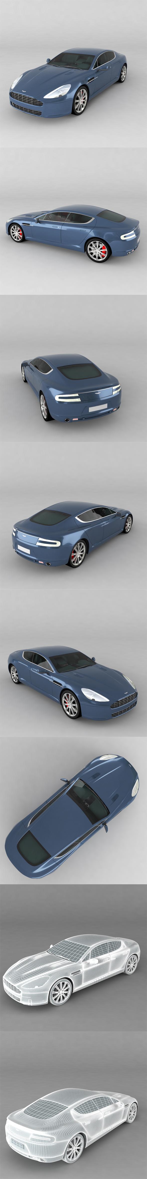 Aston Martin Rapide - 3DOcean Item for Sale