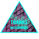 Animated Triangle Background Looped