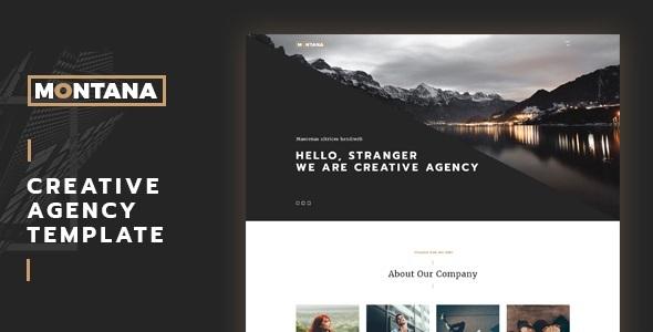 Montana – Completely Responsive A single Web page Portfolio (Portfolio)