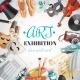 Art Exhibition Illustration