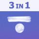 Minimalistic Glitch Logo Pack