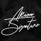 Arion Signature Typeface