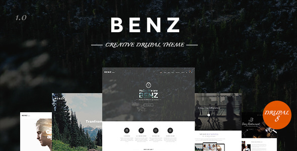 Benz - Multipurpose Drupal 8 Theme (Drupal) Benz – Multipurpose Drupal 8 Theme (Drupal) Benz Preview