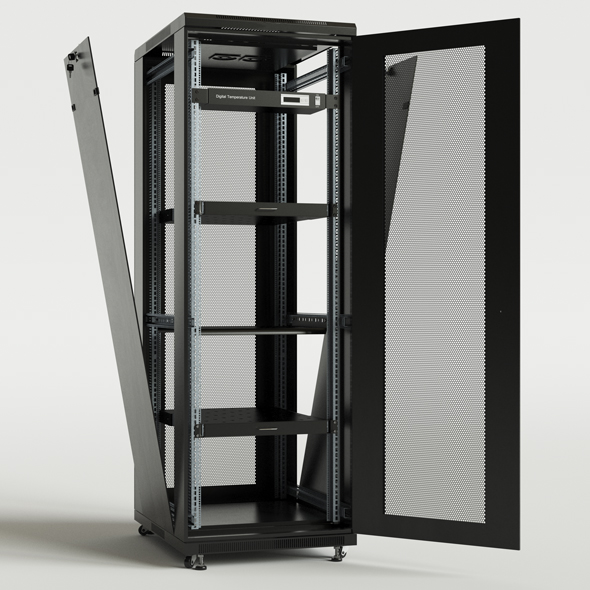 Server base Cabinet TTC - 3DOcean Item for Sale