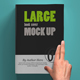 Softcover Large Book Mock Up