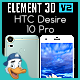 HTC Desire 10 Pro for Element 3D