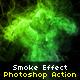 Realistic Smoke Photoshop A-Graphicriver中文最全的素材分享平台