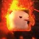 Exploding Burning Logo Reveal