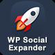 WP Social Expander