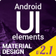 Material Design UI Android Template App