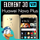 Huawei Nova Plus for Element 3D