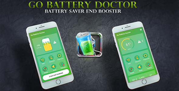 Go Battery Medical doctor Battery Saver Finish Booster With Material Design and style (Utilities)