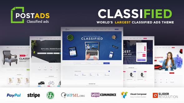 PostAds - Classified Ads Directory  WordPress Theme