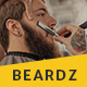 Beardz: Barbershop, Barbers & Hair Salon Interactive Template