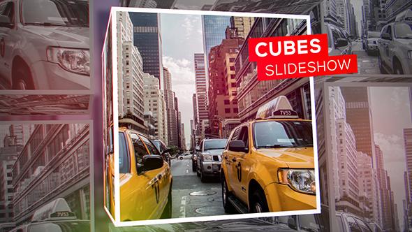 VideoHive Cubes Slideshow 19543210