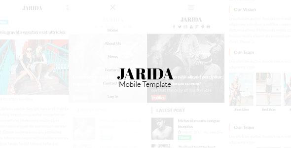 Download Jarida - Magazin Mobile Template