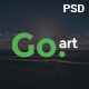 Go.Art - A Creative Art & Photography PSD Template