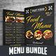 Food & Menu Bundle