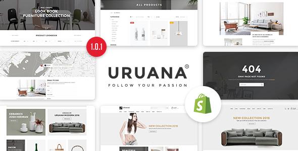 Uruana - Multi Store Responsive Shopify Theme