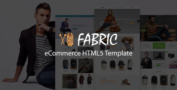 Fabric eCommerce HTML5 Template