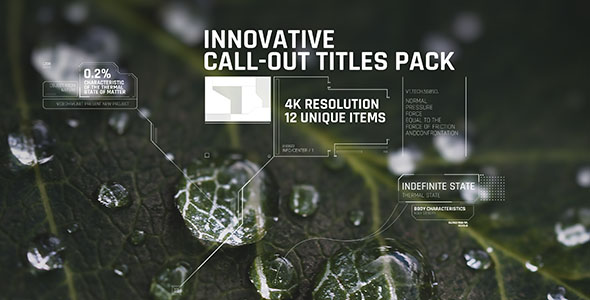 VideoHive Innovative Call-out Titles pack 19545262