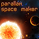 Space Parallax Background Asset and Maker