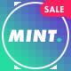Mint - креативная универсальная WordPress тема