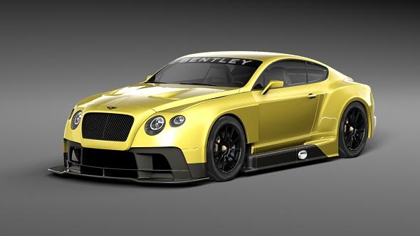 Bentley Continental GT3 - 3DOcean Item for Sale