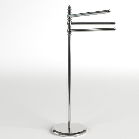 Towel Stand 1 - 3DOcean Item for Sale